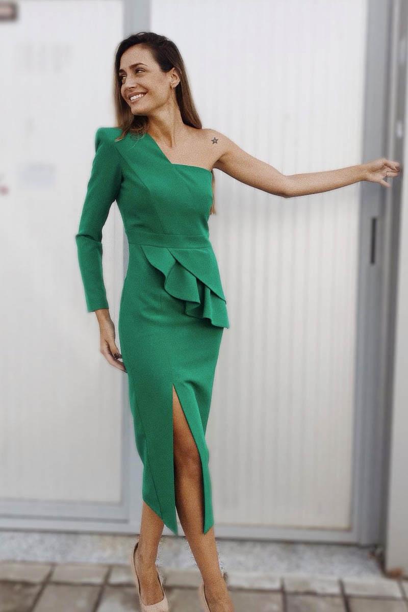 Combinar Vestido Verde